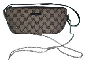 Gucci Baquette Cross Body Hobo Bag