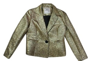 MILLY Gold Blazer