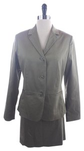 The Limited THE LIMITED Green SUIT with jacket blazer SIZE MEDIUM - SKIRT 8