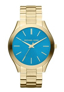 Michael Kors Turquoise Face Runway Bracelet Watch