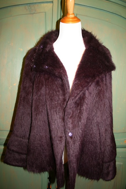 Philosophy di Alberta Ferretti Fur Coat