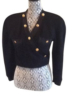 Chanel Chanel Lambs wool wrap jacket / top