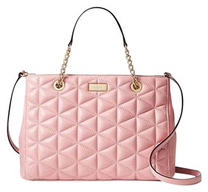 Kate Spade Satchel in Rose Shimmer