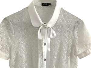 Dolce&Gabbana Button Down Shirt White