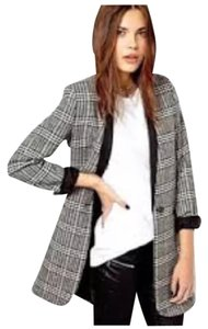 Mango Black multi Blazer