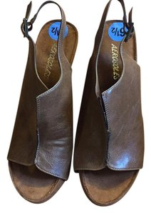Aerosoles Brown Wedges