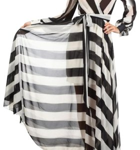 Black & white Maxi Dress by Other