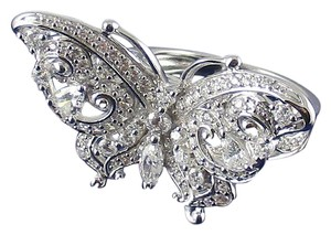 Victoria Wieck Victoria Wieck 1.56ct Absolute Sterling Butterfly Ring
