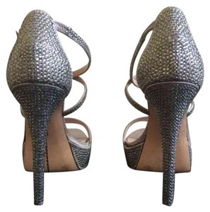 Vince Camuto Silver Platforms