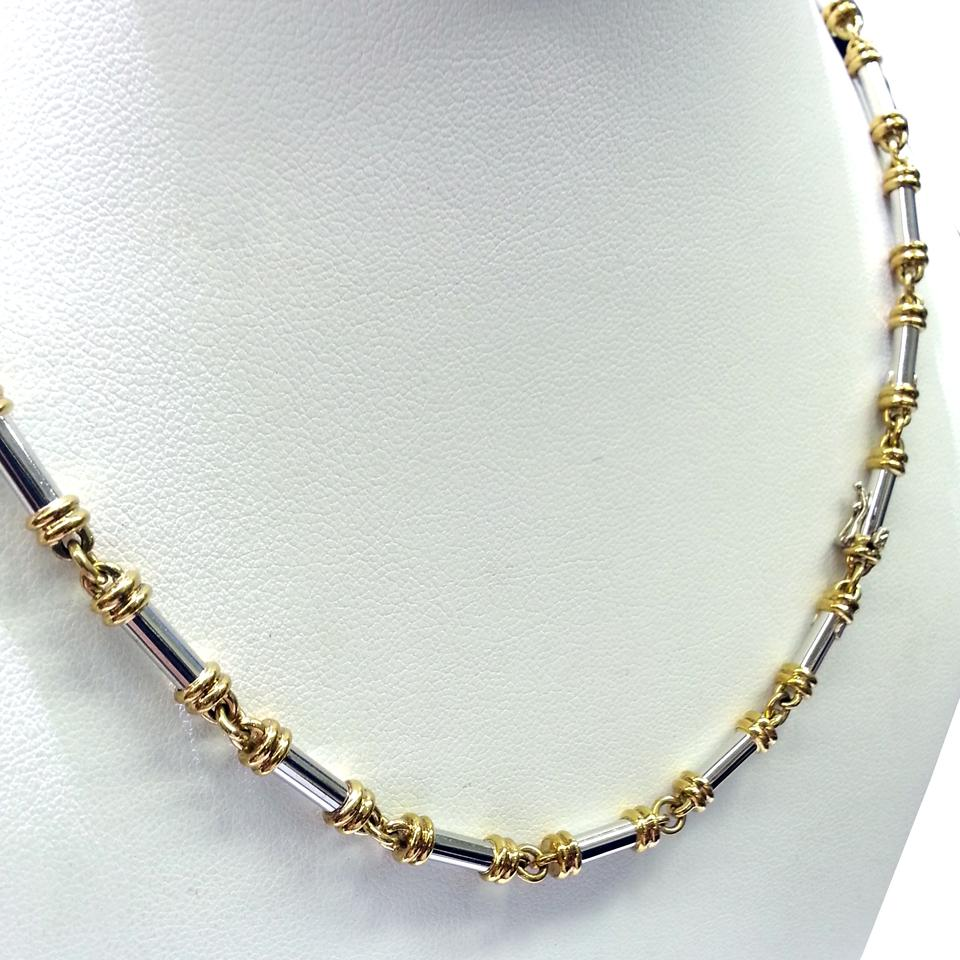 mother pearl cert of van alhambra necklace products arpels cleef gold diamond grey