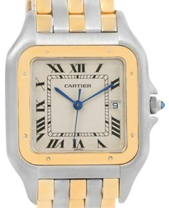 Cartier Cartier Panthere Jumbo Steel 18K Yellow Gold Three Row Quartz Watch