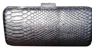Devi Kroell (For Target) Embossed Rhinestone Grey (Anthracite) Clutch