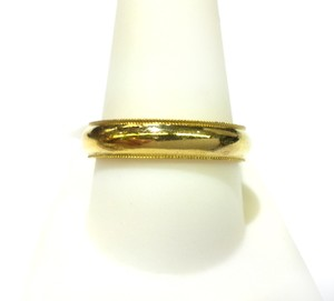 Scott Kay SCOTT KAY 18K Yellow Gold Ring Band Sz 10