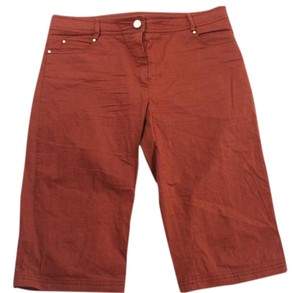 Missoni Luxe Cropped Pants Mini/Short Shorts Brown