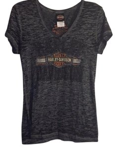 Harley Davidson T Shirt Black/dark gray