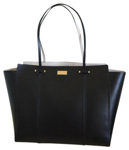 Kate Spade Tote in BLACK/ PEBBLE