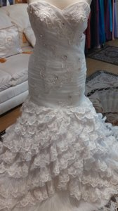 Cecile Rivoire Maggie Sottero Ruffles Wedding Dress