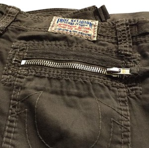 True Religion Zippers Camper Pants Cargo Jeans