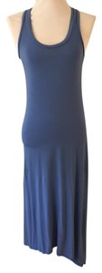 Blue Maxi Dress by Splendid Hi-lo Maxi Stretchy Soft