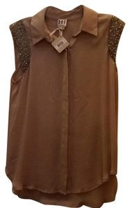 Haute Hippie Top Brown