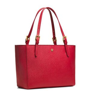 Tory Burch Tote in Kir Royale Red