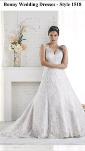 Bonny Bridal 1518 Wedding Dress
