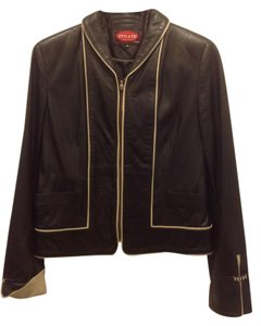 Made in Europe Leather Jacket