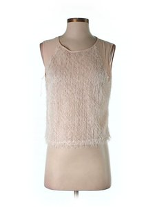 1.STATE Fuzzy Sleeveless Top
