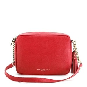 Kenneth Cole Leather New Cross Body Bag