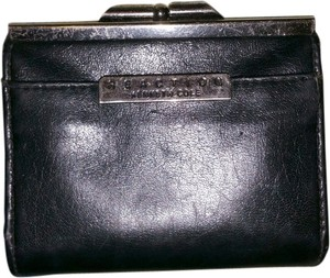 Kenneth Cole Kenneth Cole Black Leather Coin Purse Wallet