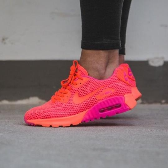 125dd3036014 Nike Women s Air Max 90 Ultra Breathe Sneakers Style Color  725061 ...