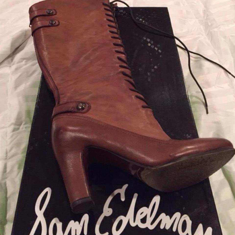 Sam Edelman Brown Leather Sanford Boots/Booties Boots/Booties Sanford 515b31