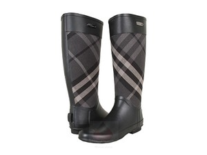 Burberry Womens Charcoal Boots