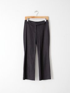 Laundry by Shelli Segal Crop Dress Capri/Cropped Pants Gray