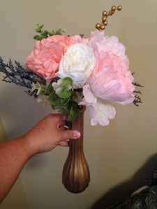 Hand-made Paper Flower Centerpieces
