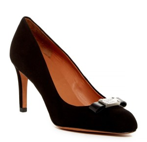 Marc by Marc Jacobs Work Suede Black Pumps