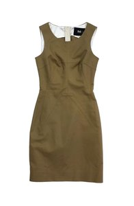 Dolce&Gabbana short dress Camel Cotton Sleeveless on Tradesy