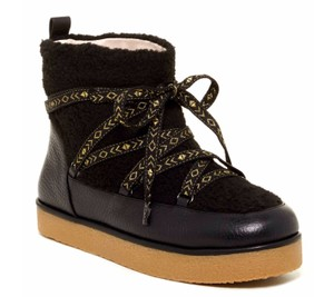 House of Harlow 1960 Shearling Fur Winter Black Boots