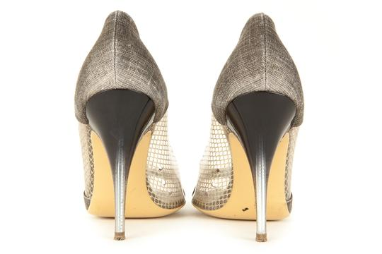 Stella McCartney Gray & Gold Pumps
