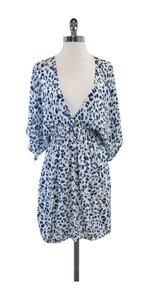 Tory Burch short dress Blue & White Spotted Cover Up on Tradesy