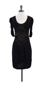 Nanette Lepore short dress Black Studded Starburst on Tradesy