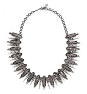 Kendra Scott Kendra Scott Gwendolyn Neclace in Black Pearl & Silver