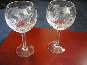 Two Prosperity Toasting Goblets