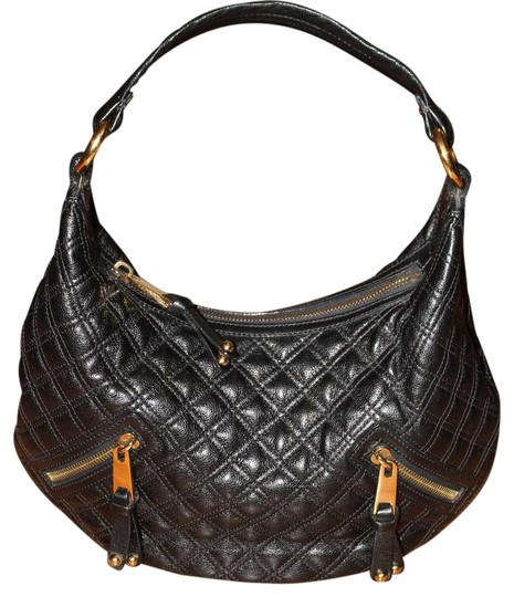 Preload https://item2.tradesy.com/images/marc-jacobs-75-off-banana-quilted-handbag-black-and-gold-leather-hobo-bag-1968341-0-2.jpg?width=440&height=440