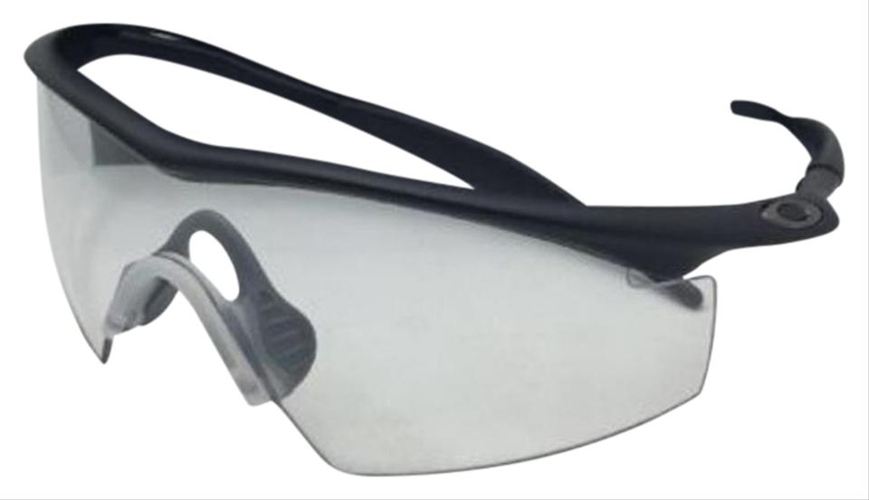 Oakley Ballistic M-frame Safety Glasses 11-161 Black W/Clear Ansi ...