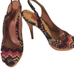 Missoni Multi colored Platforms