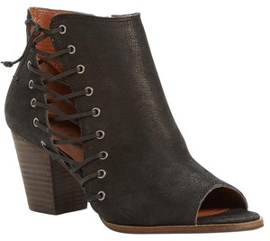 Lucky Brand Current Hartlee Side Black Boots