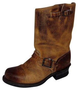 Frye Current Engineer R Oiled Brown Boots
