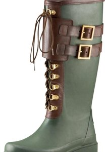 Tory Burch Green Boots