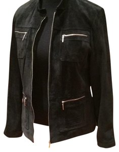 ONE 98 NINE BLACK Leather Jacket